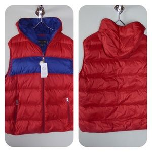 Michael Kors Quilted Down Hooded Puffer Vest NWT